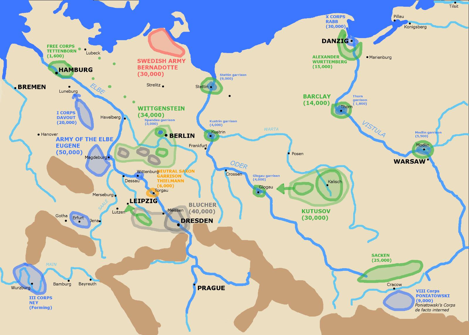 Post 005 Germany Spring 1813